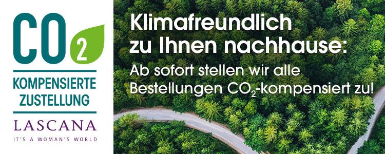 CO2-kompensierte Lieferung bei LASCANA