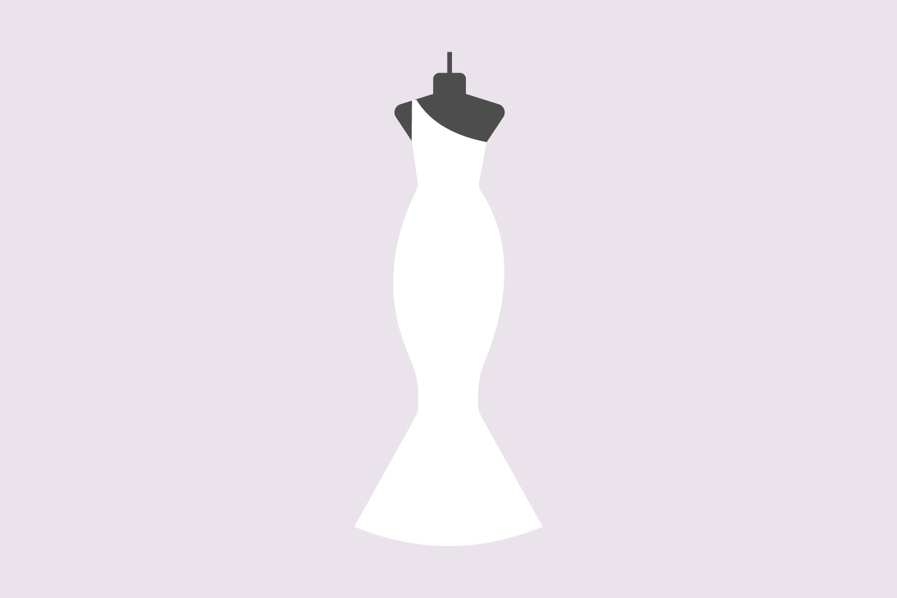 BH für trägerloses Kleid oder One-Shoulder-Kleid