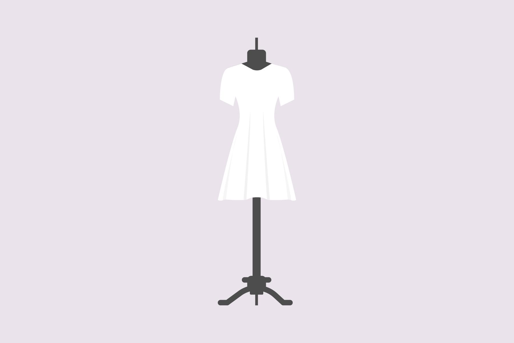 Was tragen unter einem T-shirt-Kleid?