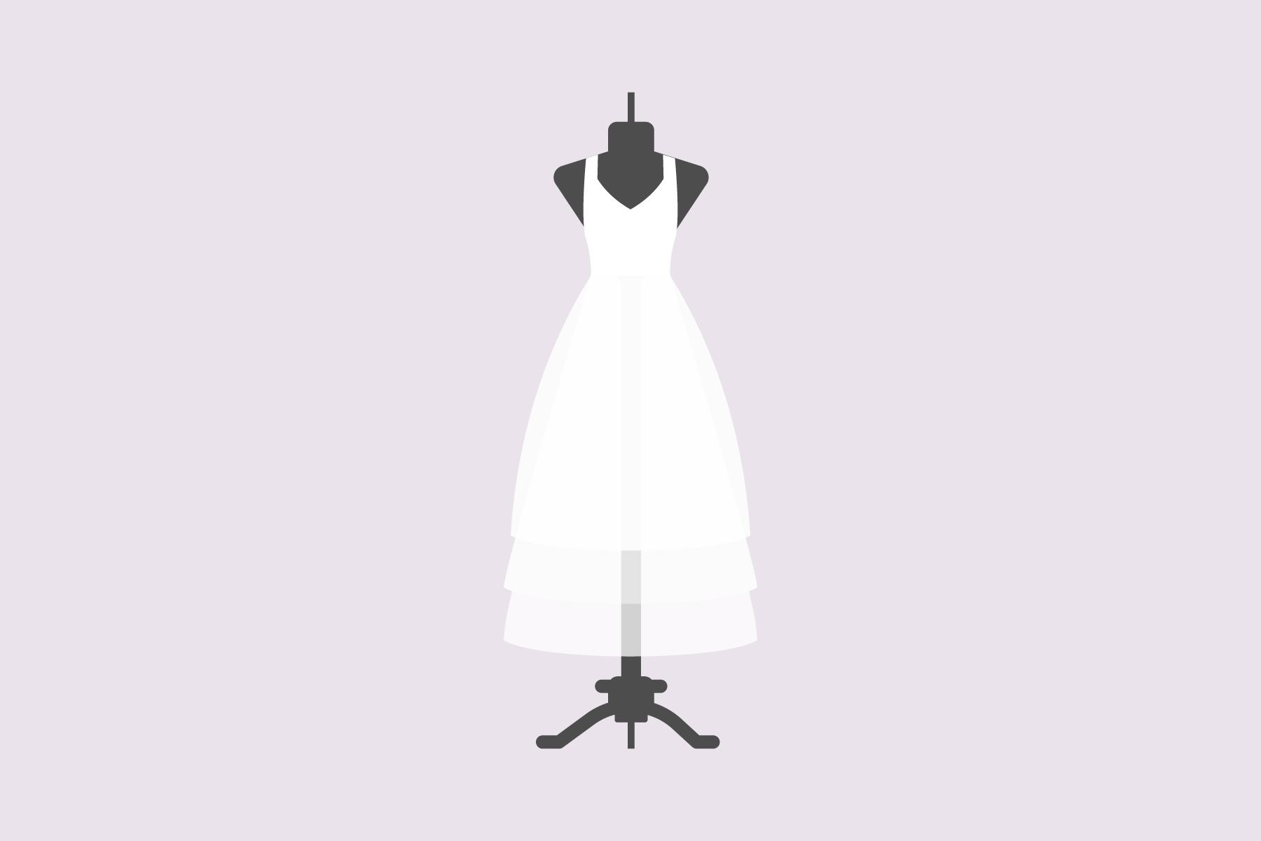 Welcher BH unter weißem Kleid?