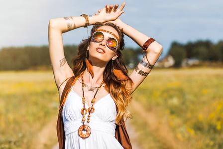 Festival Outfit Hippiemädchen