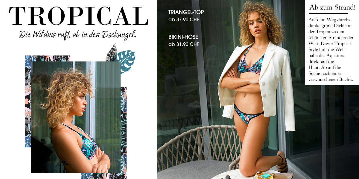 Triangel-Top, A-D Cup, ab 37,90 CHF