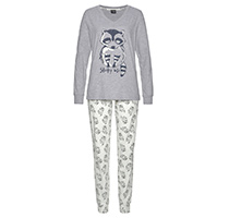 Pyjama mit Tierprint von Vivance Dreams